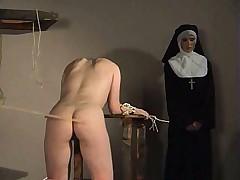 Наказание от монашки