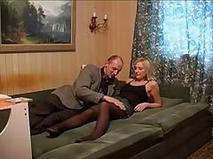 Жесткий секс с русской дамой