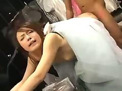Ох уж эти японцы За час до свадьбы жених сексует невесту