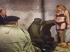 Мисс Франция 1985 Кэрол Трэдиль в порнофильме с аналом