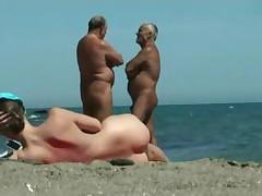 Vsja krasota nudistskogo pljazha